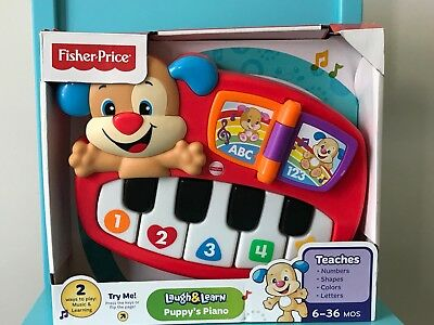 Fisher Price - Laugh and Learn - Puppy's Piano