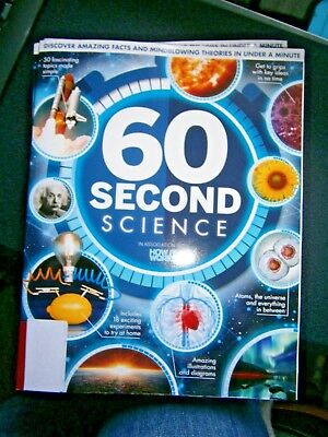 60 Second Science Bookazine In Association With How It Works (new)