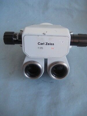 Zeiss Opmi Surgical Microscope Binocular--Parts Only