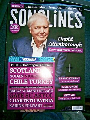 Songlines Magazine December Issue 2018 With 2 Free CD (new)