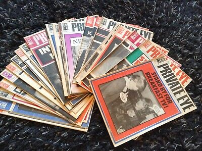 Collection Private Eye Magazines 1982 Complete Year 26 Issues