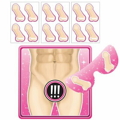 Junk On The Hunk Pin The Willy On Billy Game Hen Night Party Accessories Game