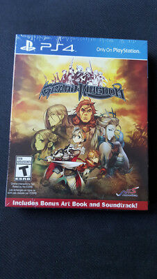 Sony Playstation 4 PS4 Grand Kingdom Limited Edition -NEW + Factory Sealed-