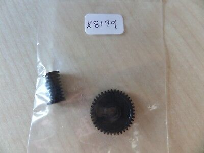 Hornby X8199 Replacement Gear Set For 0-6-0 Locos NEW( worm/worm wheel)