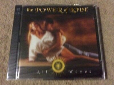 Rare Time Life The Power Of Love All Woman 2 CD (New/Sealed)