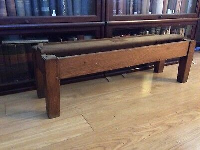Globe Wernicke Antique Barrister Bookcase Mission Oak Leg Base C 198