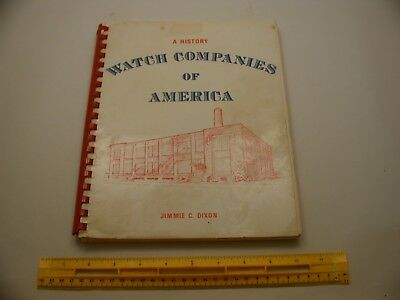 Book 637 – A History of Watch Companies of America