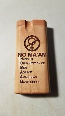 No Ma'am Married With Children custom wood wooden dugout