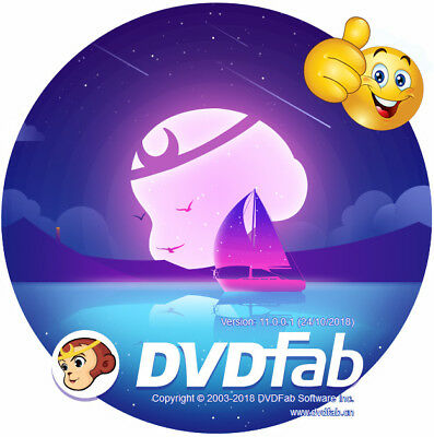DVDFab 11 All in One *NEW* Full Version - Instant Download - CD/DVD/BluRay/UHD