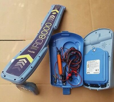 RADIODETECTION spx RD8000PXL  TX 10 TRANSMITTER PIPE AND CABLE LOCATOR