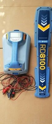 RD8100 Utility Cable and Pipe Locator Receiver with Bluetooth