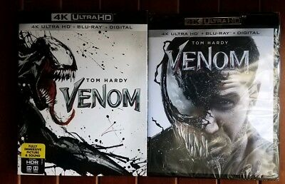 Venom (4K Ultra HD Blu-ray/Blu-ray + Digital Code) BRAND NEW - PREORDER DEC 18