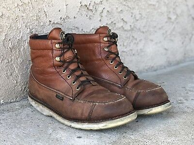 478af6b2680 RED WING MEN'S Irish Setter HUNT #838 Brown Leather Boots 11 E2 / Priced To  Sell