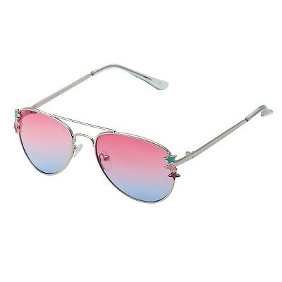 New Childrens Pink to Blue Pilot Style Sunglasses Kids Girls Boys Shades UV400