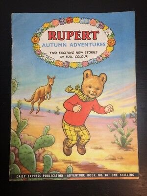 Rupert Autumn Adventures No. 38 1958 Daily Express Publication