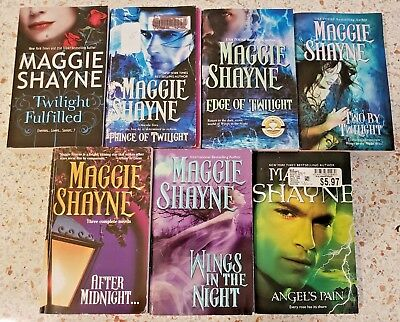 11 Maggie Shayne Wings In The Night And Secrets Of Shadow Falls