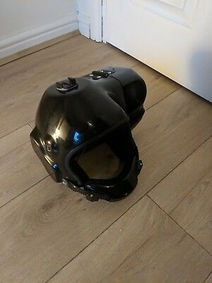 Skydiving Skydive Open Face Helmet with Cutaway, Hypeye. Size Medium.