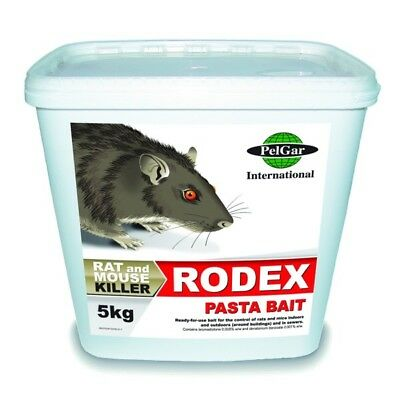 Rat Poison Strong Rodent Killer 15 Rat Bait Block Sachets Mouse Mice Bait Pest