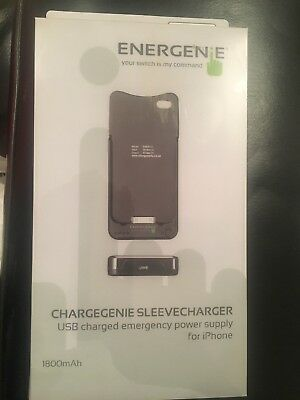 Energenie 1800mAh Battery Pack For IPhone 4