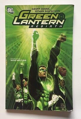 Green Lantern Rebirth TPB 2nd Edition Geoff Johns DC Comics 2010