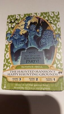Sorcerers of the Magic Kingdom Haunted Mansion Halloween Party Card 2013