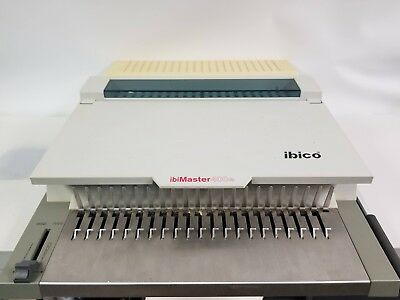IBICO ibiMaster 400e Binder - Electric Multifunction Binding Machine