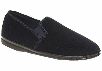 New Grosby Percy Mens Comfortable Indoor Slippers