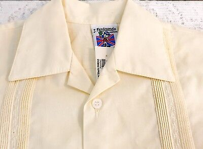 Vintage Boy Sz 4 Two Pc J. Ferdinand Creations Outfit Ivory NOS