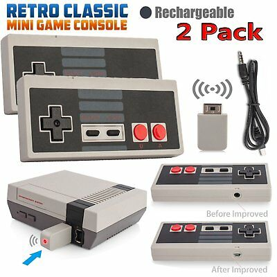 2*Wireless Game Controller Gamepad for Nintendo NES Classic Edition Mini Console