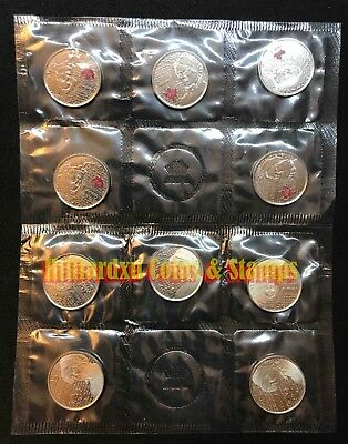 2013 CANADA  Laura Secord 25-CENT Circulation 10-Pack Set