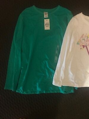 Girls Size 8 Tops One Is New With Tags