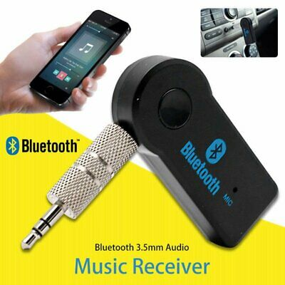 3.5mm Car Receiver Adapter Wireless Bluetooth AUX Stereo Music Audio