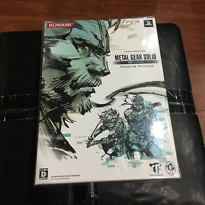 Metal Gear Solid HD Collection Premium Package   PS3   Japan   NEW   Kojima