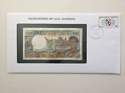 Banknotes of All Nations - New Caledonia - 500 Francs - UNC