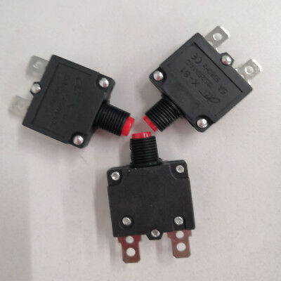 AC 125//250V 20A Air Compressor Circuit Breaker Overload Protector Switch T1