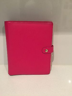 Kikki K Berry Large Leather Planner Extremely Rare