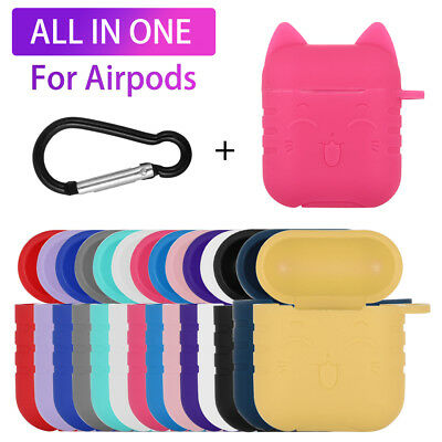 AirPods Case Protective Silicone Skin Holder Bag for Apple Air Pod Accessory