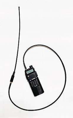 Antenna relocation extension cable 80 cm for Baofeng type radio pigtail