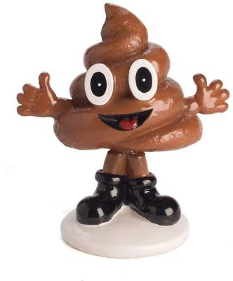 Smiling Poo Face Emoji Bobble Head Poop Sh*T Crap Novelty Gift Idea