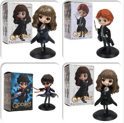 "5.8"" Q posket Harry Potter Hermione Ron Weasley Qposket PVC Figure Toy Gift"