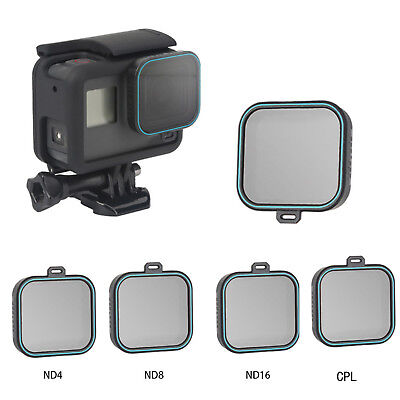 For Gopro Hero 7 6 5 TELESIN CPL ND4 ND8 ND16 Camera Lens Filter Protector Set