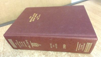 The Kennel Club Stud Book For The Year 1988, Volume CXVI, Anonymo