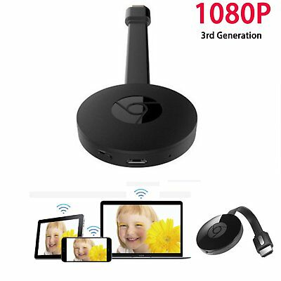 For Google 3nd Generation Chromecast 3 Digital HDMI Media Video Streamer 1080P