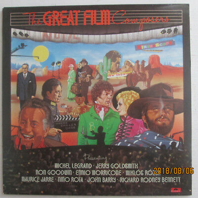 """Various Orchestras.""""the Great Movie Composers"""".john Barry Polydor.12"""" 33Rpm .lp."""