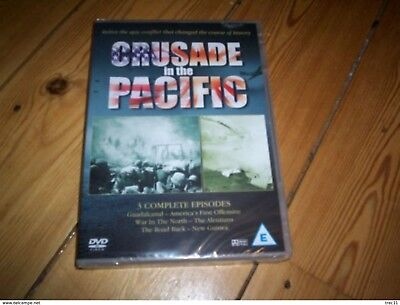 Crusade in the Pacific Guadalcanal - DVD NEW/SEALED