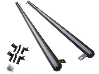 VW T5 T6 Swb Transporter Van Caravelle Side Bars Steps Running 2003 –12 Bk M253