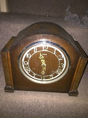 Art Deco Enfield Chiming Mantel Clock. Parts Repair Untested