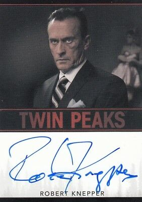 Twin Peaks 2018 Robert Knepper as Rodney Mitchum Limited Event Auto Card