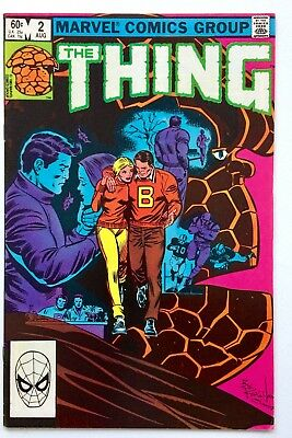 The Thing 2 1983 Marvel Comics vol.1 1st Print VF Byrne and Wilson Bag & Board