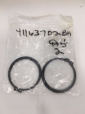 Dodge 411637-02-BA Retaining ring (Pack of 2) 41163702BA Reliance